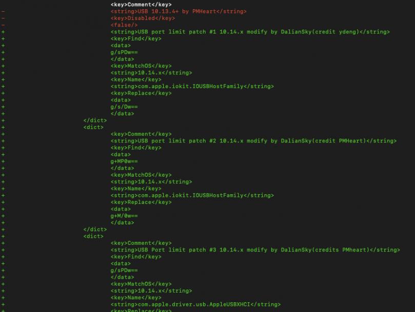 robig net | Mojave hackintosh USB 3 0 fix